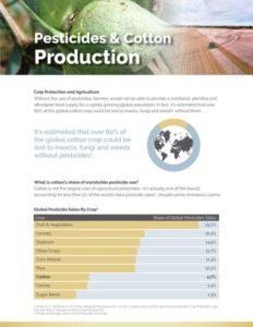 View Pesticides and Cotton Production Document